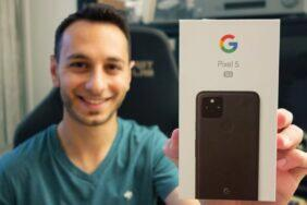 Google Pixel 5 videorecenze YouTube