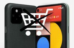 Google Pixel 5 vyprodaný