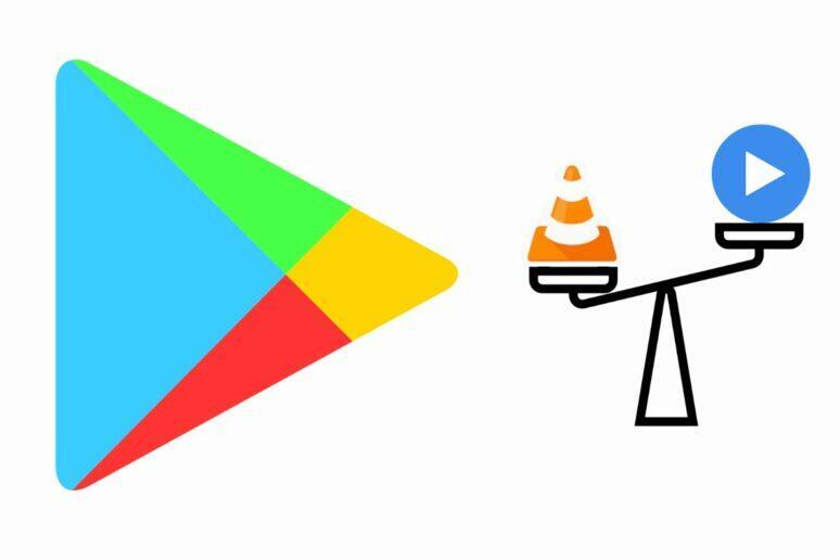 Google Play srovnaní aplikací