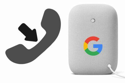 Google reproduktory příchozí hovory