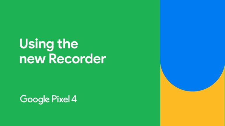 How to use the new Recorder App | Google Pixel 4