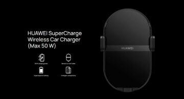 Huawei 50W bezdrátová nabíječka do auta