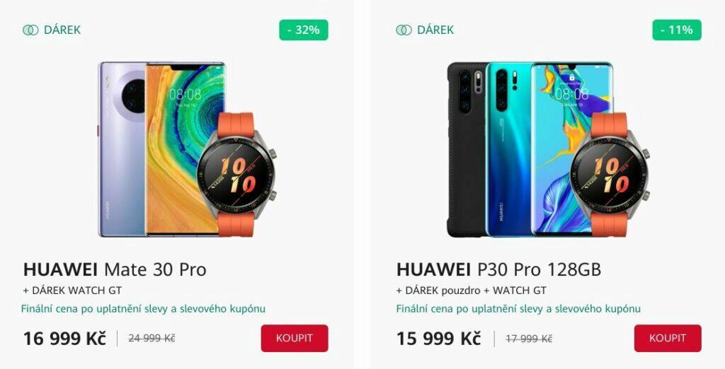 Huawei akce dárek sleva