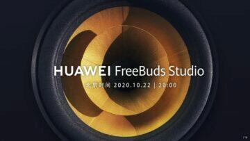 Huawei FreeBuds Studio pozvánka