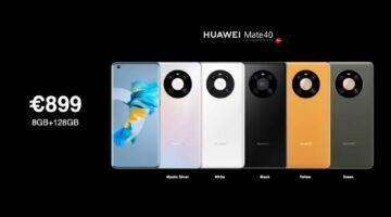 Huawei Mate 40 cena