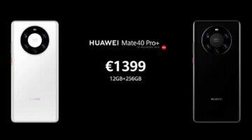 Huawei Mate 40 Pro+ cena