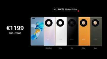 Huawei Mate 40 Pro cena