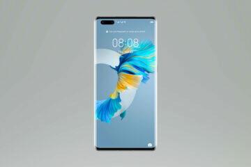 Huawei Mate 40 Pro N_unlock_Silver_Front