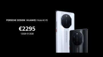 Huawei Mate 40 RS cena