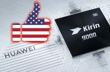 Huawei povolení nakupovat čipy