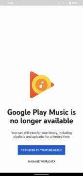 hudba google play oficiálně končí
