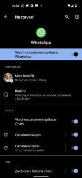 jak používat chatovací okna android 11
