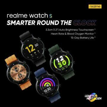 K představení Realme Watch S dojde velmi brzy