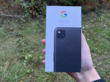 krabička google pixel
