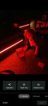 LED tma bez efektu