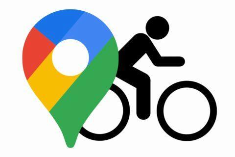 Mapy Google navigace pro cyklisty rozšíření