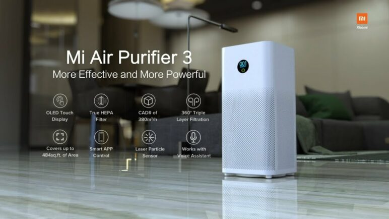 Mi Air Purifier 3 with True HEPA Filter