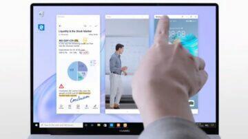 multi-screen collaboration ovládání oken