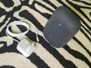 Nest Audio testování reproduktor adaptér