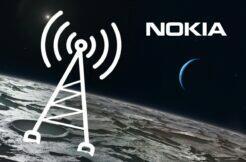 Nokia 4G internet na Měsíci