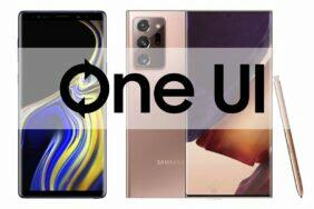 Note9 2.5 Note20 3.0 One UI update