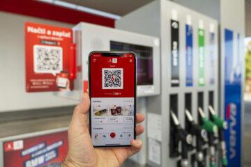 nová aplikace benzinová pumpa