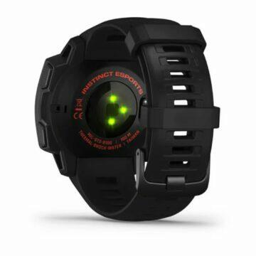 nové hodinky Garmin Instinct Esports Edition záda