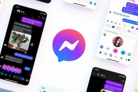 nové Messenger logo