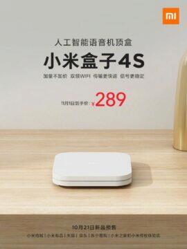 novinka Xiaomi Mi Box 4S Weibo plakat