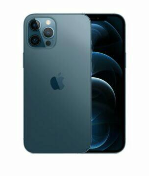 nový modrý iphone