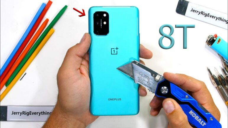 OnePlus 8T Durability Test - Is it worth the Ice Cream?!