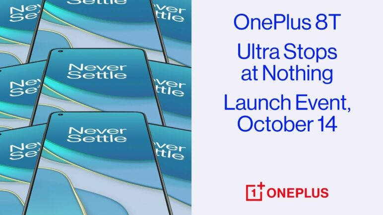 OnePlus 8T Launch Event