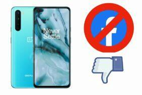 OnePlus Facebook bloatware