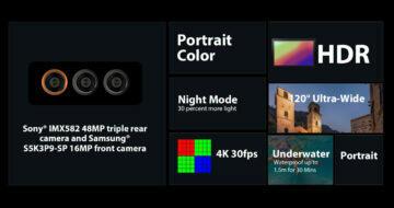 parametry Blackview BL6000 Pro 5G fotoaparáty