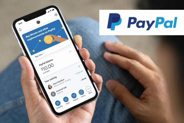 PayPal kryptoměny
