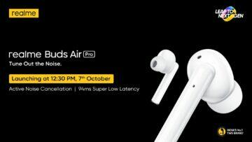 Realme Buds Air Pro teaser