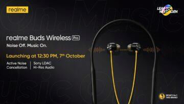 Realme Buds Wireless Pro teaser