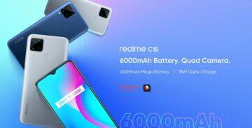 Realme C15 Qualcomm Edition oficiálně