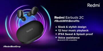 redmi earbuds 2C oficiálně