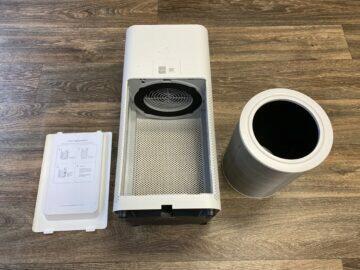 rozebrání filtru čistička vzduchu xiaomi