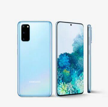 porovnání Samsung Galaxy S20 FE S20 komplet