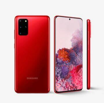 porovnání Samsung Galaxy S20 FE S20 Plus komplet
