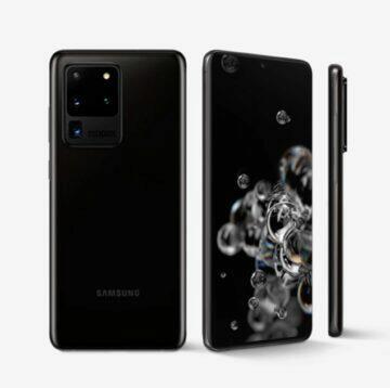 porovnání Samsung Galaxy S20 FE S20 Ultra komplet