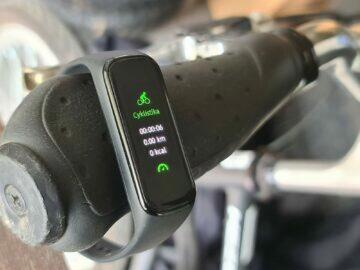 Samsung Galaxy Fit2 sport cyklistika