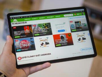 Samsung Galaxy Tab S7 prohlířeč
