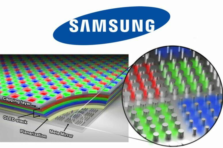 Samsung nový typ OLED displeje