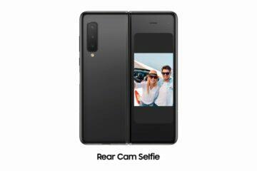 Selfie hlavní kamerou