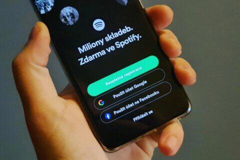 Spotify Google účet