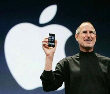 Steve Jobs prvni iPhone