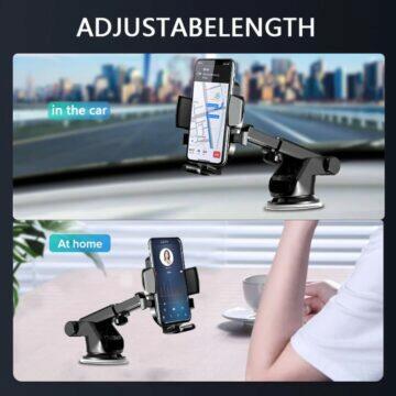 Teleskopický držák mobilu do auta doma